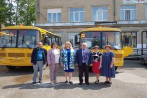 Новые автобусы для школ Ашинского района